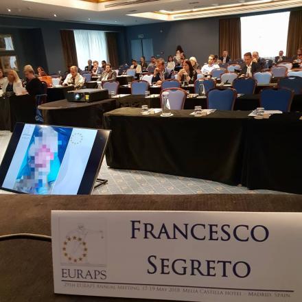 """Il Dr. Segreto invitato come membro della """"faculty"""" al congresso ERC 2018"""